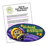 Girl Scout Virtual Overnighter Patch Program