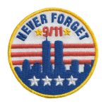 Girl Scout 9/11 Never Forget Patch