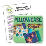 Girl Scout Pillowcase Project Patch Program