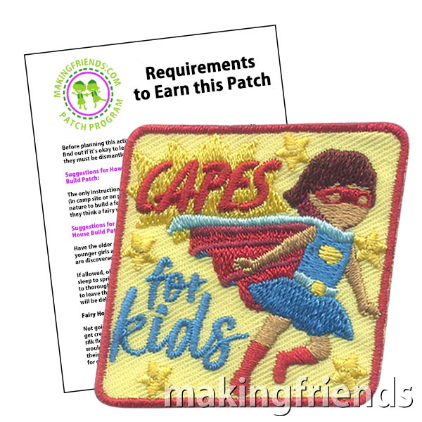 The world can be scary, but superheros save the world. Every kid wants to be a superhero and be the one that saves the day. #makingfriends #superheros #mf #super #bekind #kids #kidsareheros #savetheworld #savetheday #crafts via @gsleader411