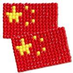 Diamond Painting China flag pin Girl Scout SWAP