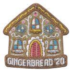 Girl Scout Gingerbread 2020 Fun Patch