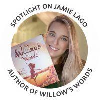 Jamie Lago, author of Willow's Words