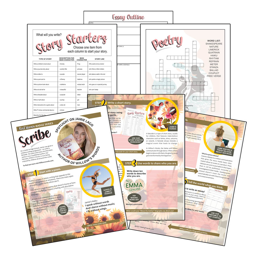 Girl Scout Scribe Download for Juniors