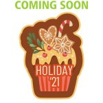 Girl Scout Holiday 2021 Patch