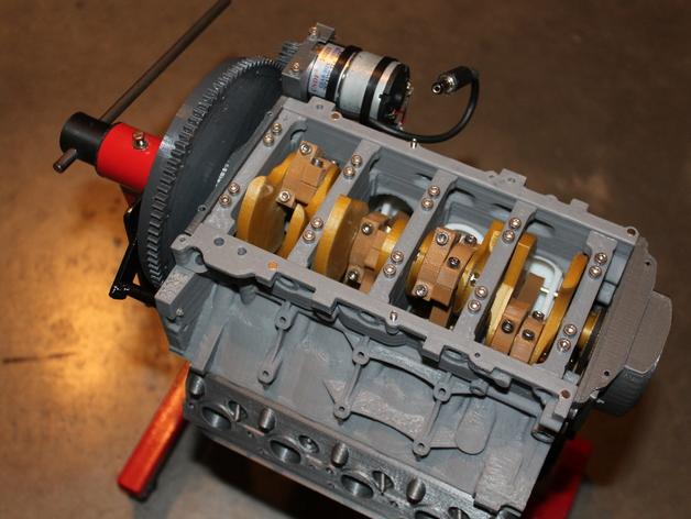 Mini V8 Gas Engine Kits