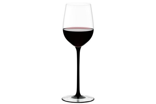 Glas med vin