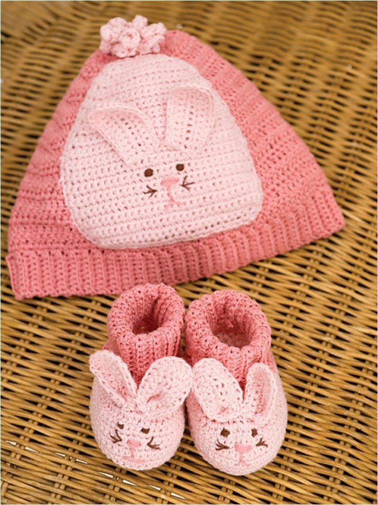 Knit Crochet Rabbit Outfit