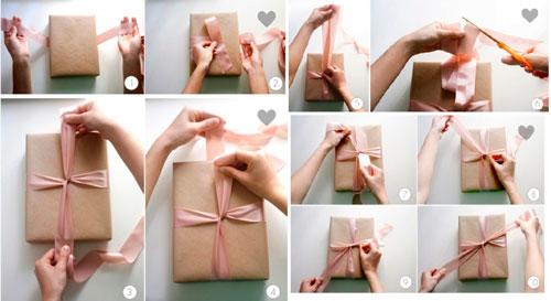Hvor smuk til at pakke gaver til det nye år 2