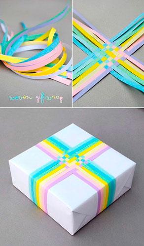 Enkel og smuk gaveemballage med dine egne hænder til det nye år 6