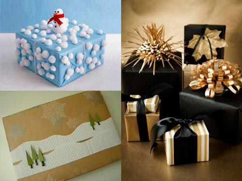 Smukt nytårs gavemballage 2