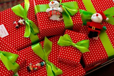 Smuk gaveemballage med dine egne hænder til det nye år 6