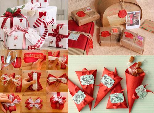 Smukt pakke gaver til det nye år 14