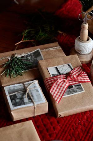 Original gave gave til nytår med foto