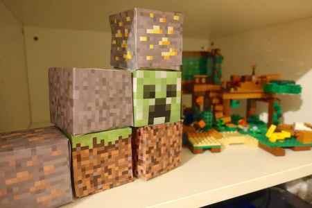 Kinder Zeigen Ihre Minecraft Rike - Minecraft spielen kinder