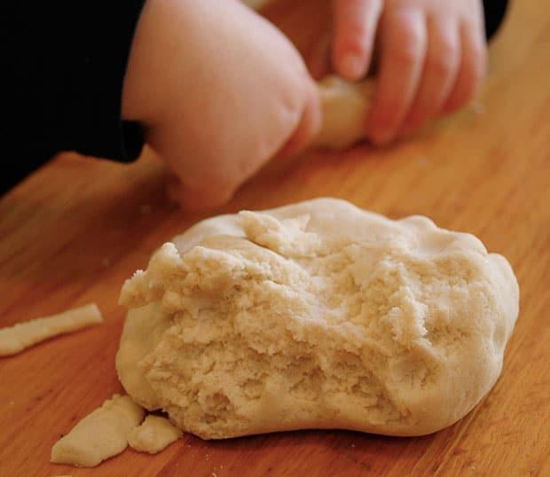 как приготовить соленое тесто