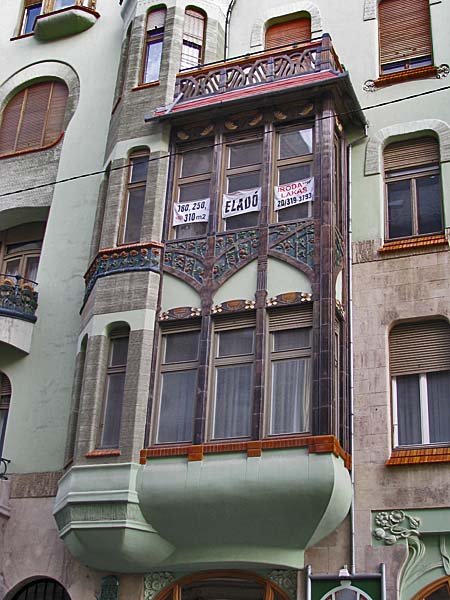 The House Of Hungarian Art Nouveau Budapest Hungary