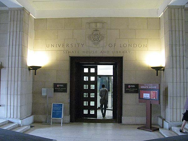 Senate House University Of London