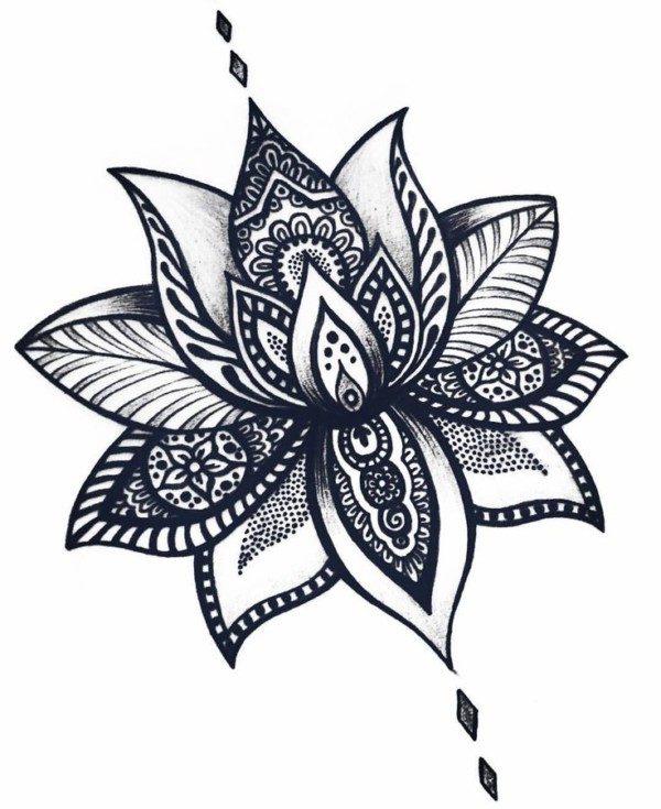 Flor Tattoo Mandala