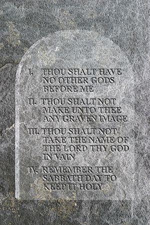 10 commandments of god # 68