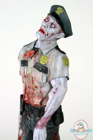 Resident Evil 1 6 Scale Zombie Cop By Hollywood