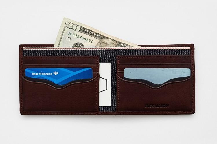 Bison Front Pocket Wallets Men