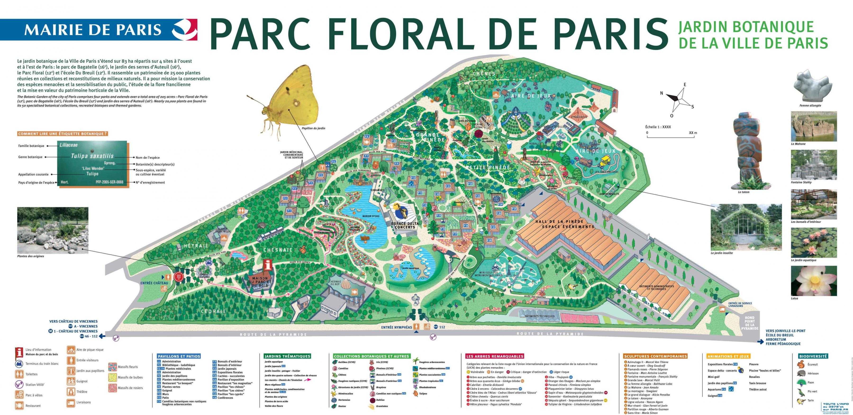 Map Paris France Neighborhoods