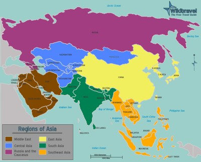 Asia | Map Collection