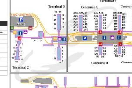 phoenix airport terminal map » Full HD MAPS Locations - Another ...