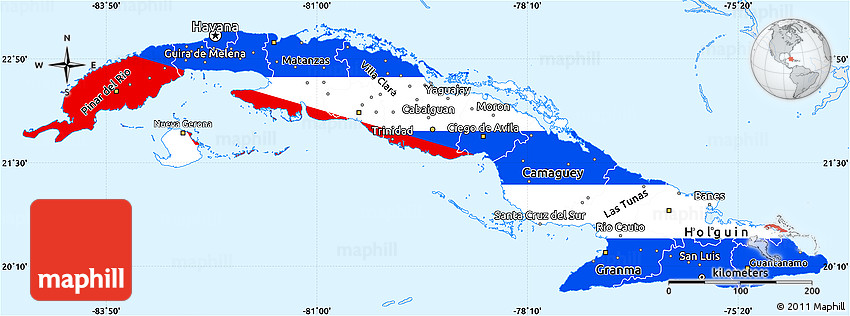 And White Black And Countries South Central America Map