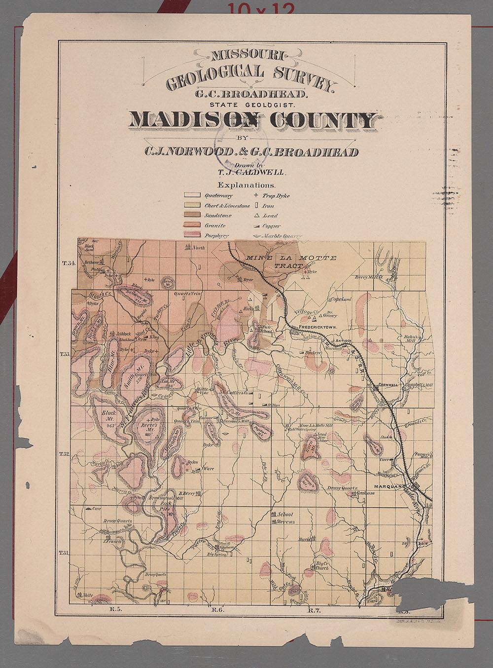 Street Nc Map Madison