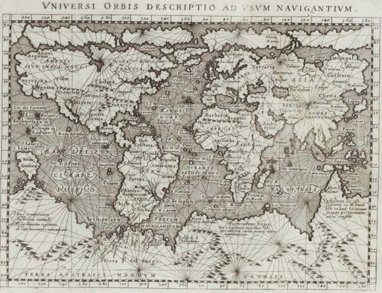 Historical Map World  1800      Mapsof net Historical Map World  1800  large map