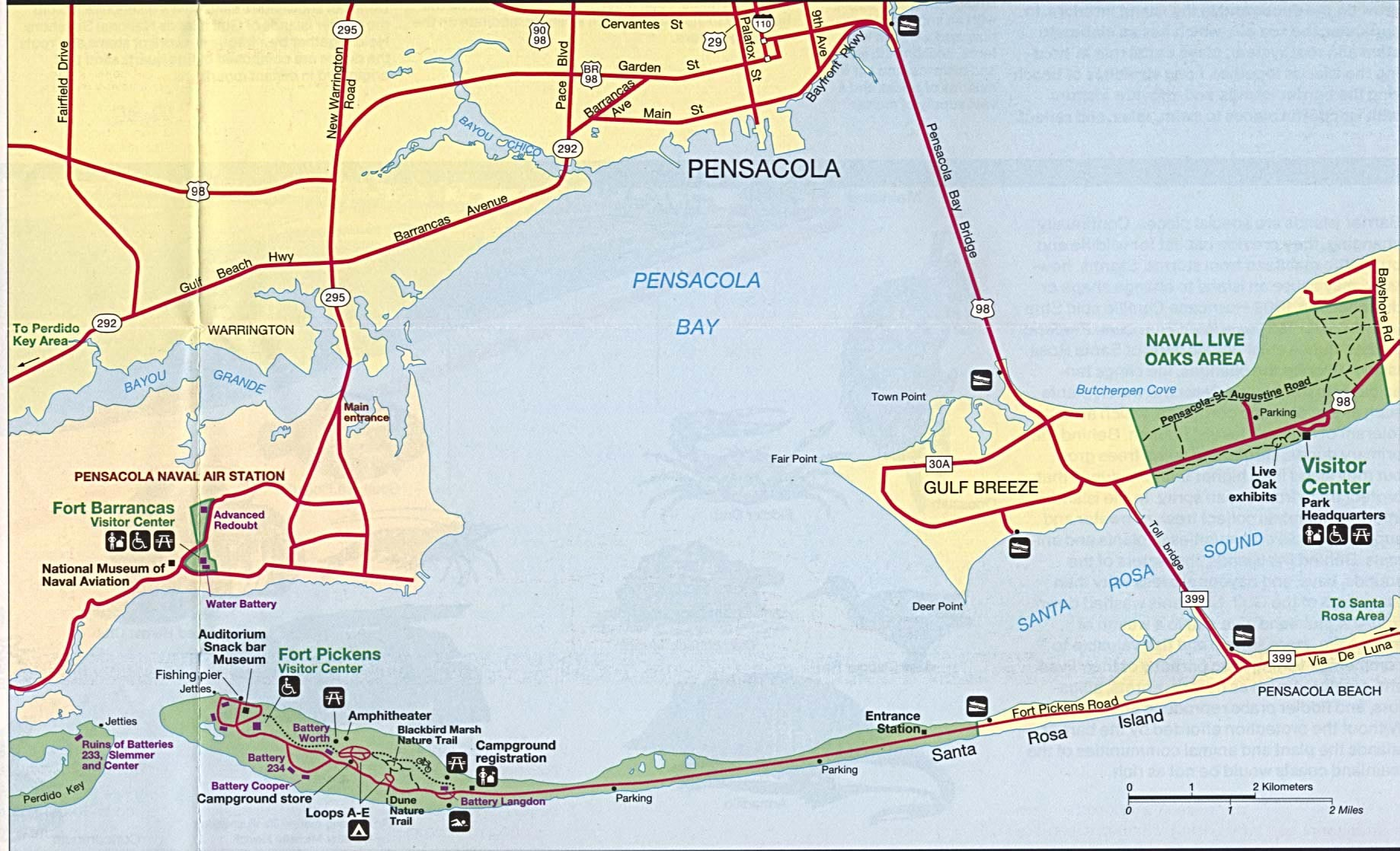 Map Pensacola Florida.Map Pensacola Florida Historical Street