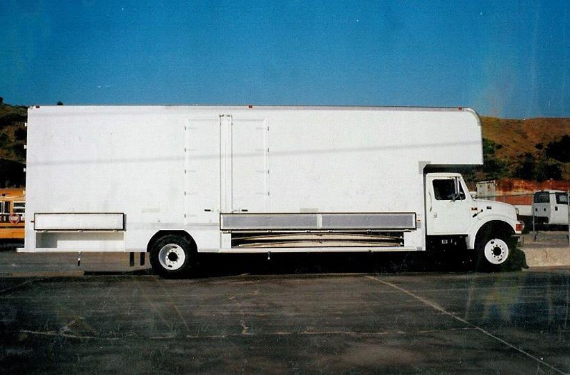 Moving Vans Marathon Truck Body