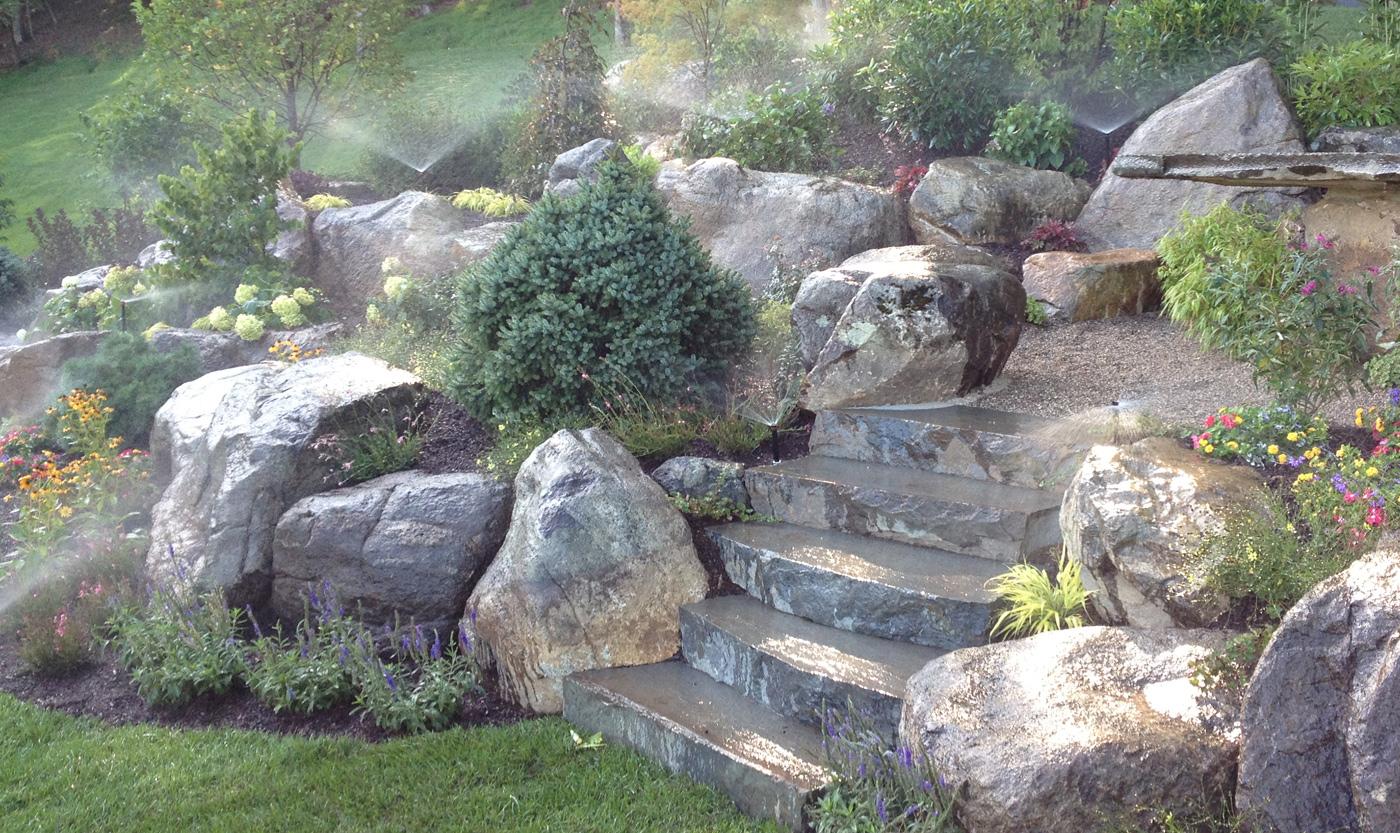 Decorative Lawn Rocks