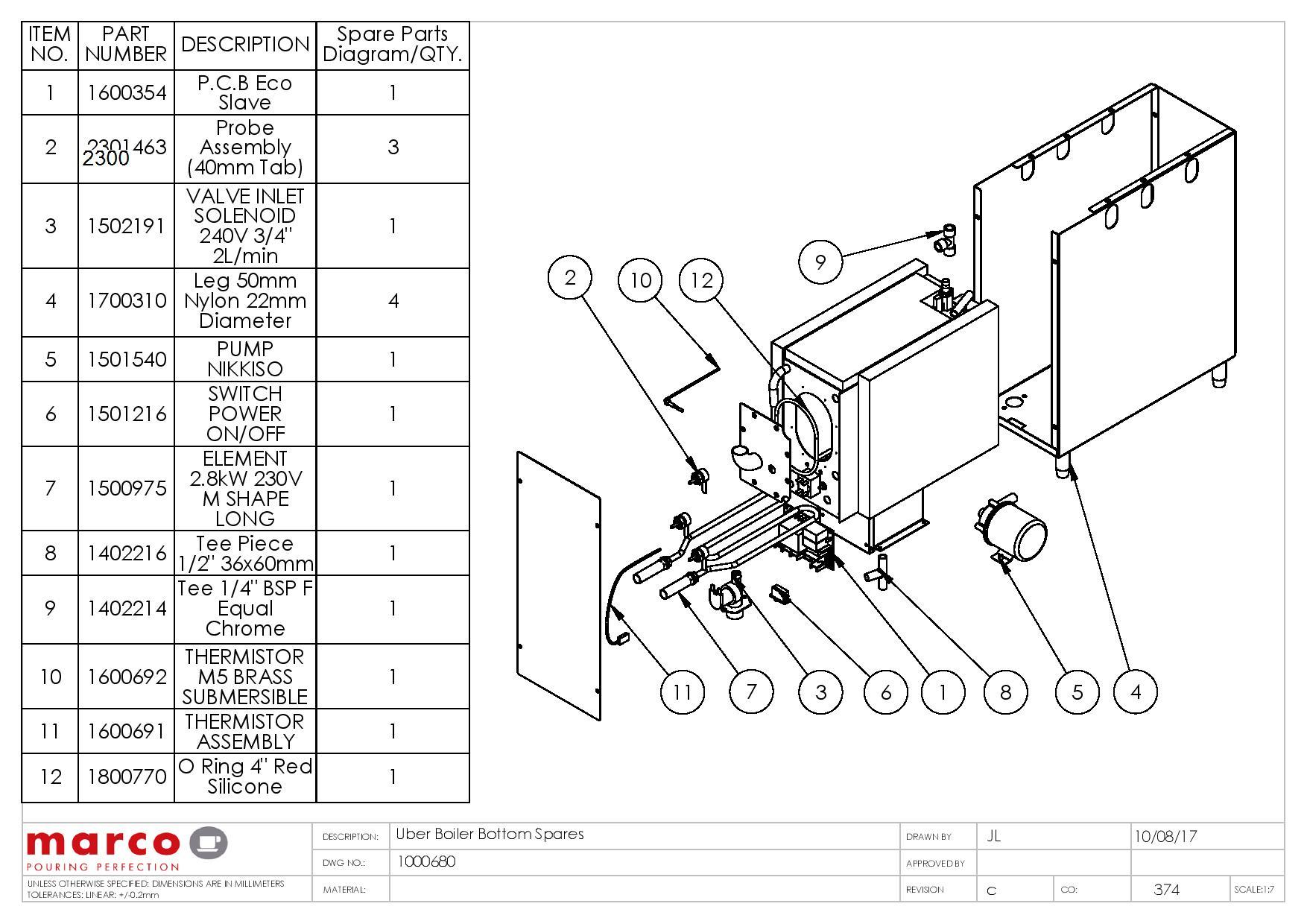 Burnham Boilers Parts List