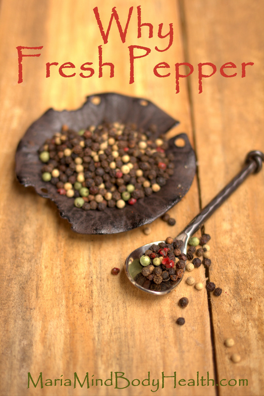 What Fresh Ground Pepper