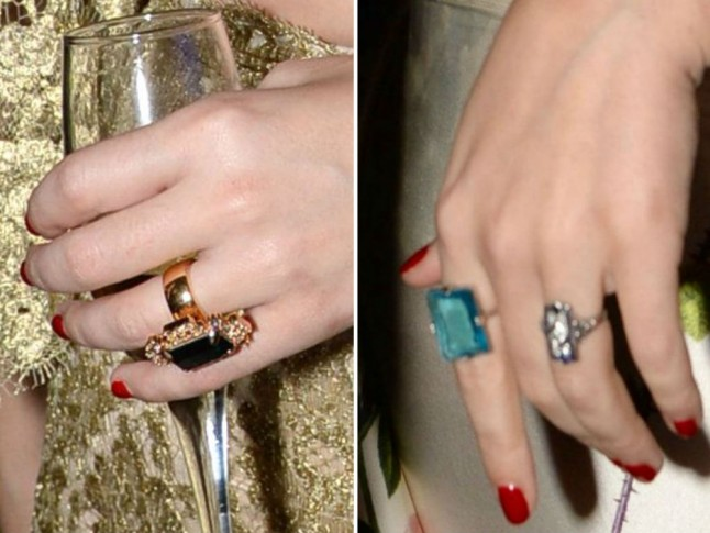 Katy Perry Wears A Second Left-Hand Ring: Is She Messing With Us?   Marie Claire