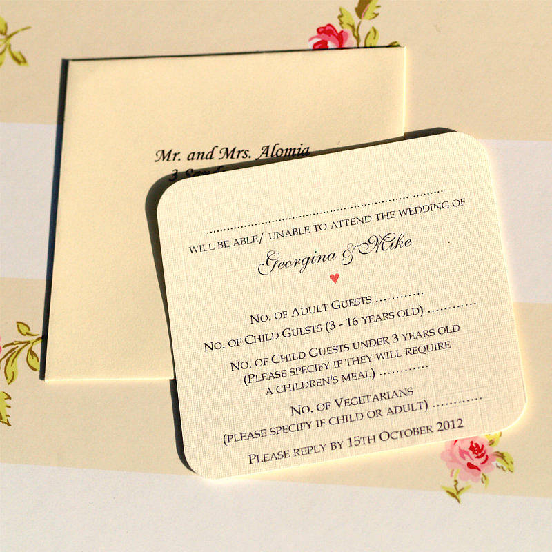 Personal Wedding Invitation Messages