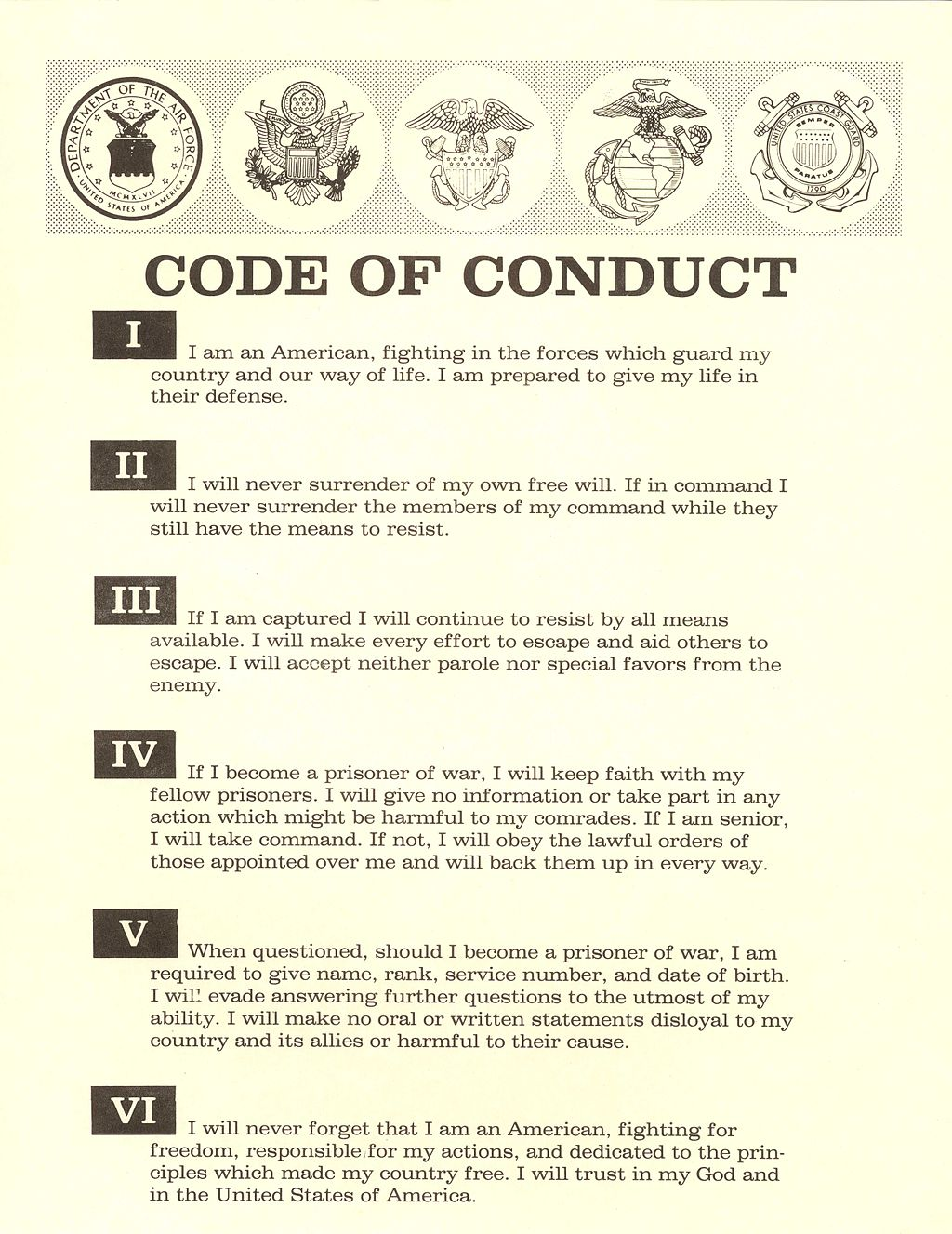 Security Guard Number Code