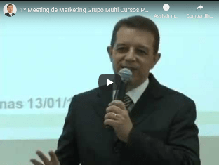 Evento 1º Meeting de Propaganda e Marketing do Grupo Multi
