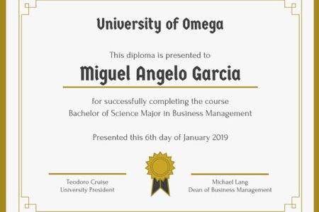 Free Resume Sample » online formal certificate maker | Resume Sample