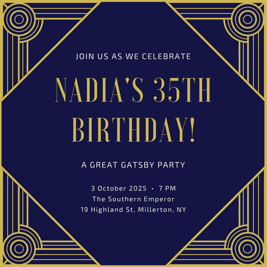 Birthday Invitation Card Design Online