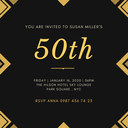 Customize 204 Great Gatsby Invitation Templates Online Canva