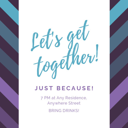 Customize 44 Get Together Invitation Templates Online Canva