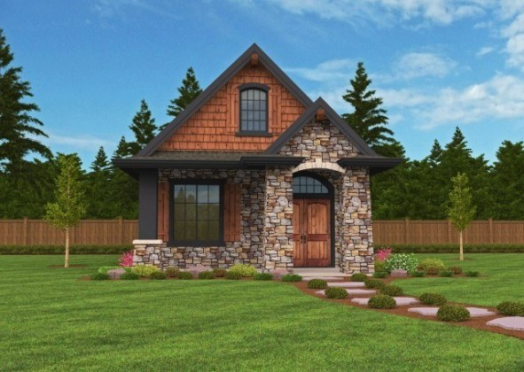 Cottage House Plans   Cottage Home Designs   Floor Plans with Photos  Montana  a Mark Stewart Small Cottage House Plan