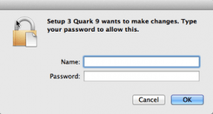 Markzware PDF2DTP for QuarkXPress Asking for Password