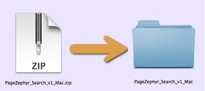 Markzware PageZephyr Search Mac ZIP File
