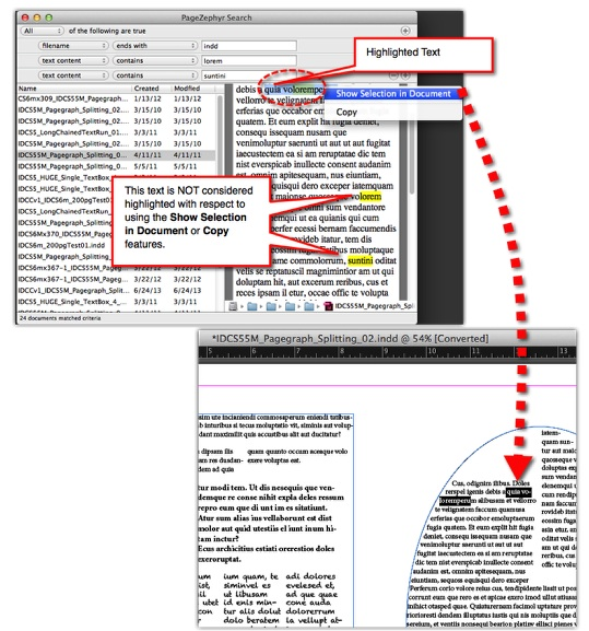 Content Search and Distribution: Search InDesign via ...