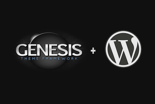 Genesis+WordPress for business website